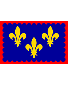 Flag: Region Bérry in France