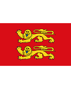 Flag: French province of Normandy