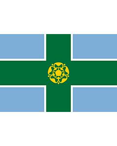 Flag: Derbyshire