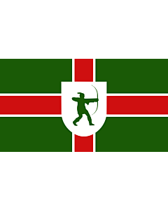 Flag: Nottinghamshire