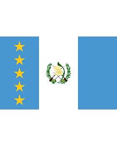 Flag: En President of Guatemala standard