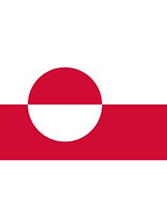 Flag: Greenland