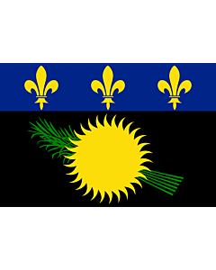 Flag: Guadeloupe