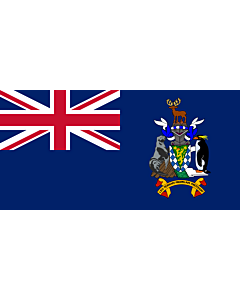 Flag: South Georgia and the South Sandwich Islands