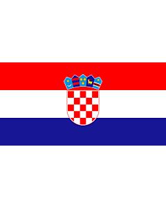 Flag: Croatia
