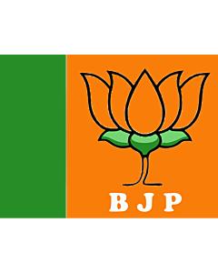 Flag: BJP