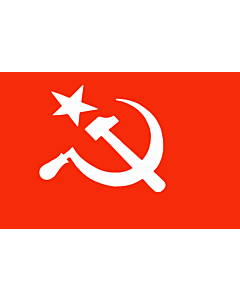 Flag: SUCI | Official flag of the Socialist Unity Centre of India as per its constitution