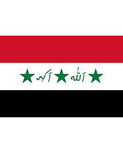 Flag: Iraq 1991-2004