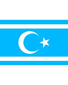 Flag: Iraq Turkmen Front | Vectorized version of Flag of Iraq Turkmen Front