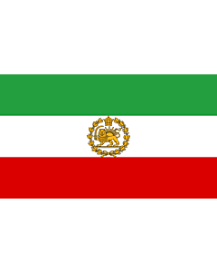Flag: Naval Ensign of Iran 1964-1979
