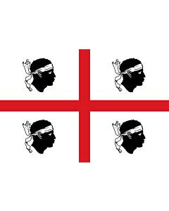 Flag: Sardinia