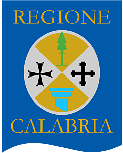 Flag: Calabria Gonfalone