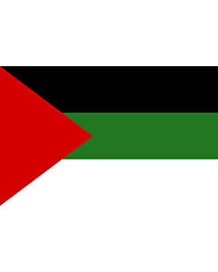 Flag: Arab revolt of 1917  Hashemites