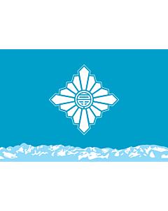 Flag: Toyama Prefecture