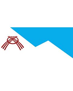 Flag: Osh city, Kyrgyzstan