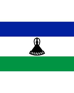 Flag: Lesotho