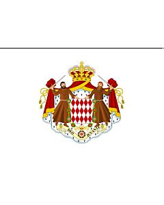 Flag: Monaco