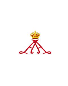 Flag: Personal standard of Prince Alberto II of Monaco