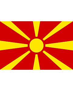 Flag: Macedonia