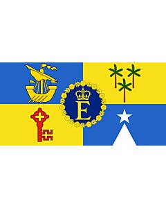 Flag: Queen Elizabeth II s personal flag for Mauritius
