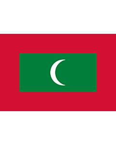 Flag: Maldives