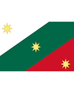 Flag: Mexican Regency  First flag of the Mexican Empire