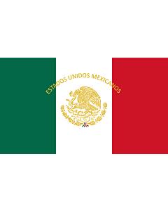 Flag: Mexican Presidential Standard