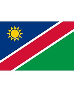 Flag: Namibia