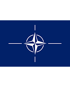 Flag: North Atlantic Treaty Organization  NATO