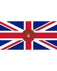 Flag: Governor of Nigeria  1914–1960 | Standard of the Governor-General of Nigeria before the Republic