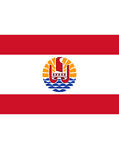 Flag: French Polynesia