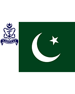 Flag: Naval Standard of Pakistan