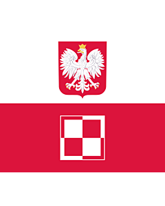 Flag: Polish Air Force Commander-in-Chief s flag