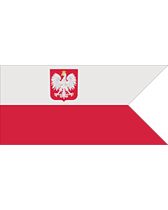 Flag: Naval Ensign of Poland normative