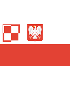 Flag: Polish Air Force flag  1959-1993