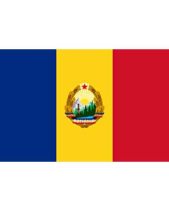 Flag: Romania  1965-1989 | Romania