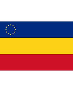 Flag: Romanian minority in Serbia
