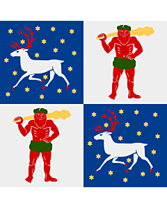 Flag: Norrbotten County