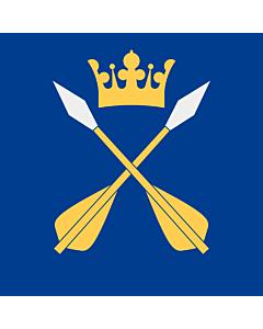 Flag: Dalarna County