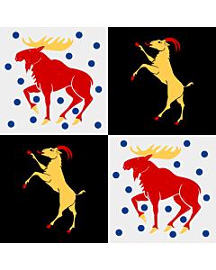Flag: Gävleborg County