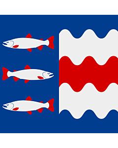 Flag: Västernorrland County