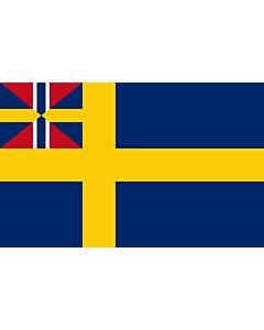 Flag: Swedish norwegian union