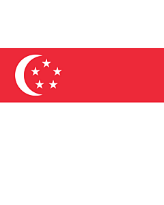 Flag: Singapore