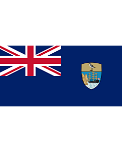 Flag: Saint Helena, Ascension and Tristan da Cunha