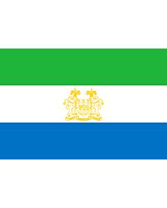 Flag: Standard of Ambassadors of Sierra Leone | Standard of ambassadors of Sierra Leone