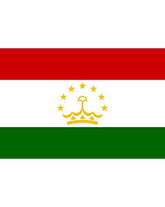 Flag: Tajikistan