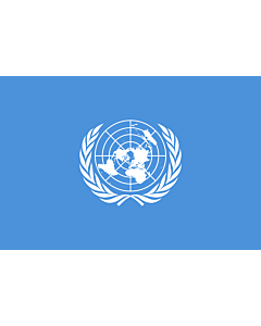 Flag: United Nations, UN
