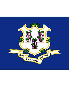 Flag: Connecticut