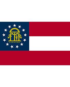 Flag: Georgia