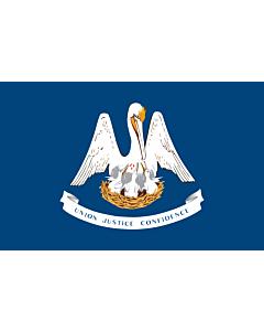 Flag: Louisiana
